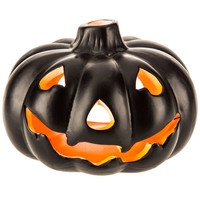 Neon Orange Jack-O-Lantern Candle Holder | Hobby Lobby | 205461751