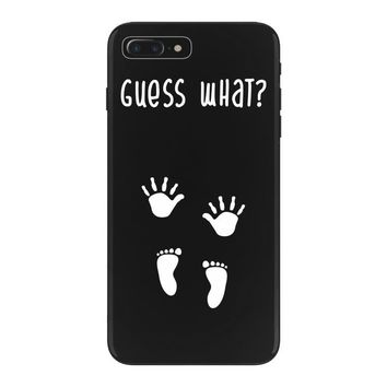 Guess What Baby Inside Pregnancy Announcement iPhone 7 Plus Case