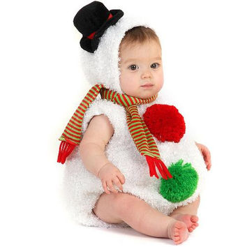 Baby Snowman Infant / Toddler Costume - 12/18 Months