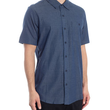 High Noon Short Sleeved Shirt - Midnight Indigo