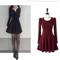 2016 New Fashion Women Lady's Dress,Hot Sale.Size S M L.Big Sale = 4513543172