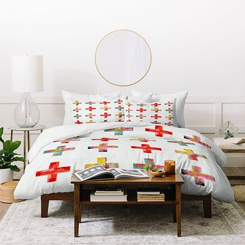 Natalie Baca Plus Two Duvet Cover