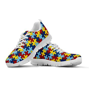 Kid's Running Shoes Autism Awareness EXP