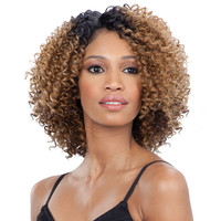 FREETRESS EQUAL SYNTHETIC DEEP DIAGONAL PART LACE WIG FLOWER BLOSSOM