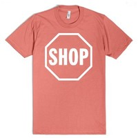Stop And Shop-Unisex Pomegranate T-Shirt