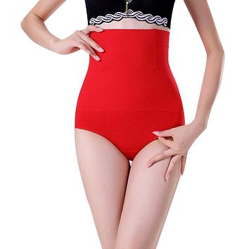 High Waist Girdle Body Shaper Underwear Slimming Tummy Knickers Panties 2017 New Fashion and hot sale shaper intimates