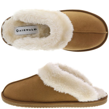 Womens - Airwalk - Women's Shiloh Fur Scuff - Payless Shoes