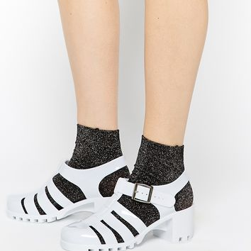 Truffle Collection Jelly Heeled Sandals at asos.com