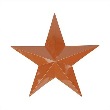 3' Light Brown Country Rustic Star Indoor/Outdoor Wall Decoration