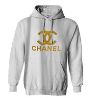 Chanel Gliter Gold Hoodie for Mens Hoodie and Womens Hoodie *