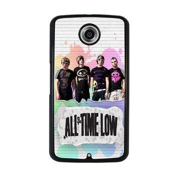 all time low personil band nexus 6 case cover  number 1