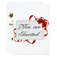You Are Invited Invitation Card