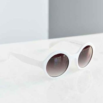 Phoebe Simple Round Sunglasses