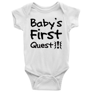 Baby's First Quest Baby Onesuit