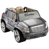 Power Wheels Fisher-Price Cadillac Hybrid Escalade - Grey - FAO Schwarz®