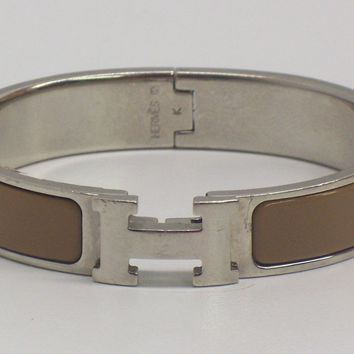 Authentic Hermes Clic Clac H Bracelet