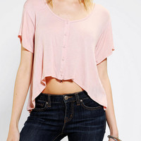 Urban Outfitters - Kimchi Blue Swing Cropped Tee