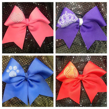 Cheer Bow- Custom Cheerleading Dance Ribbon