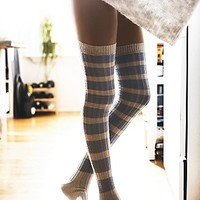Free People Womens Hideaway Striped Otk Sock