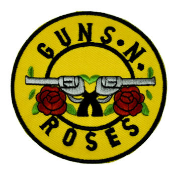 Guns N Roses Patch Iron On Applique Alternative Clothing Slash