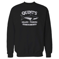 Jaws Horor Movie Shark Week Shark Fishing Funny Sweatshirt