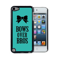 IPod 5 Touch Case Thinshell Case Protective IPod 5G Touch Case Shawnex Bows Over Bros Teal