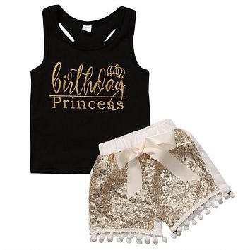 Birthday Princess 2-Piece Set