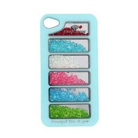 Bling Rainbow Crystal Phone Cover Case for Iphone 4/4s
