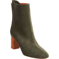 Chloe Suede Pull-On Ankle Boot at Barneys.com