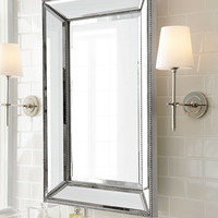 Visual Comfort Bryant Sconce with Polished Nickel Finish