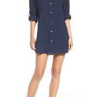Tommy Bahama Cotton Cover-Up Shirt | Nordstrom