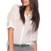 Classic Button Up Shirt