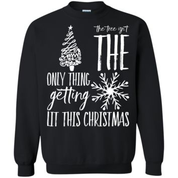 Getting Lit This Christmas Sweater