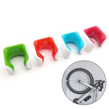 Hot Road Mountain Bicycle Parking Racks Cycle Wall Hooks For Bikes Holder MTB Bike Storage Rack Cycling Mount Tire Support Stand