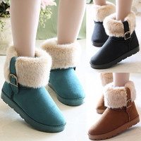 Women's Snow Boots Ankle Boots Warm Shoes