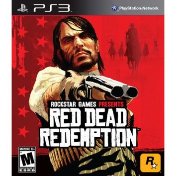 Red Dead Redemption, Rockstar Games, PlayStation 3, 710425375736 - Walmart.com