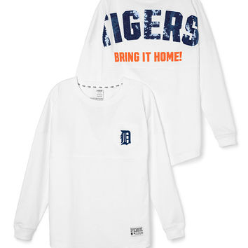 Detroit Tigers Bling Varsity Crew - PINK - Victoria's Secret