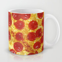 Pepperoni Pizza Mug by RexLambo