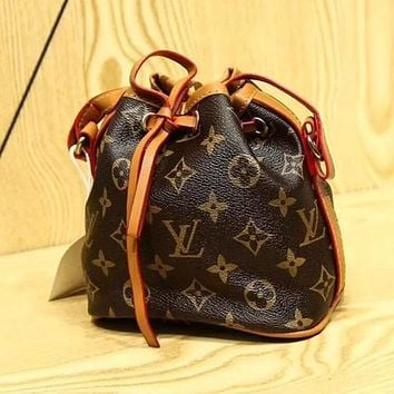 LV Louis Vuitton Fashion Women Leather Shoulder Bag Satchel Daypack