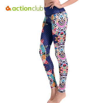 Running Tights Cycling Sports Pants For Fitness Female Skiing Trousers Gym Slim Leggings Yoga Clothing