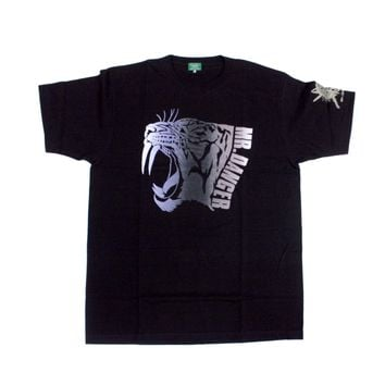 MATSUNAGA MR. DANGER BLACK T-SHIRT LG