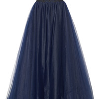 Notte by Marchesa - Embellished tulle gown