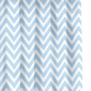 Gallego Chevron Shower Curtain