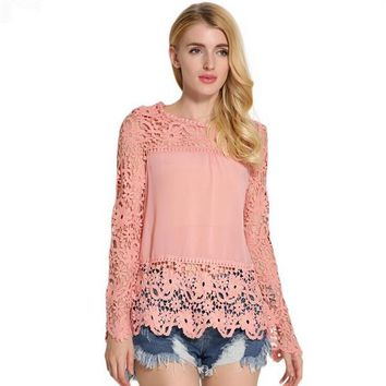 Enchanting Lace Top