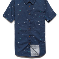 Shark Print Cotton Shirt