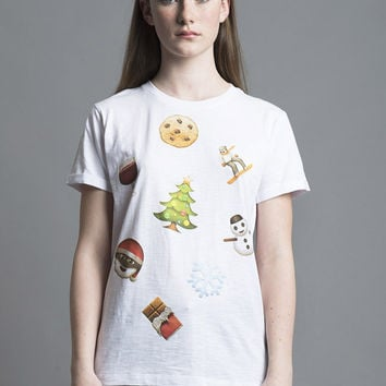 Christmas Emoji T-Shirt