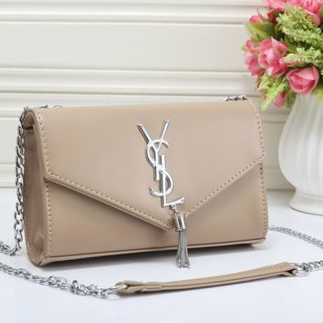 YSL Women Fashion Leather Shoulder Bag Crossbody-5