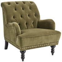 Chas Armchair - Olive