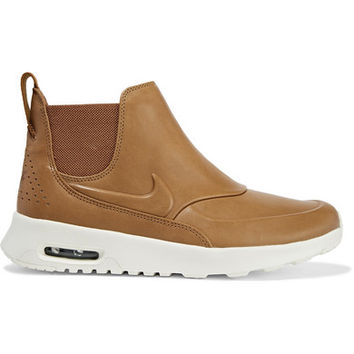 Nike - Air Max Thea leather slip-on sneakers