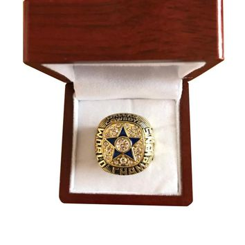 Sport Jewelry 1971 Dallas Cowboys Championship Ring Custom football ring drop shipping Size 11